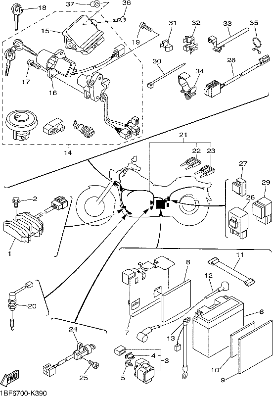 yamaha v star wiring diagram schemes  diagram  auto wiring