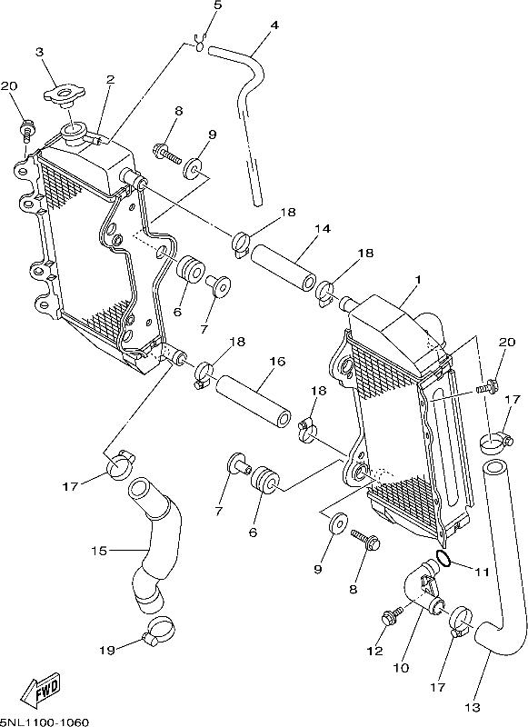 Yamaha Xj6 Wiring Diagram